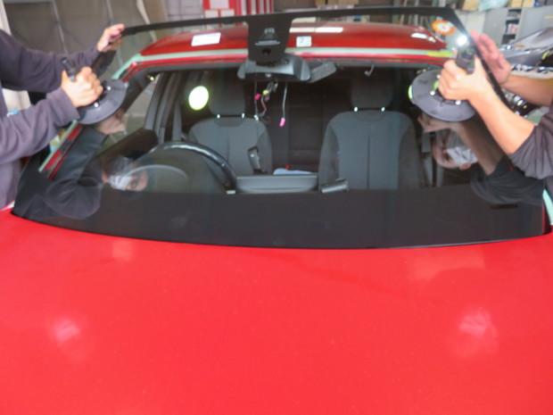 BMW フロントガラス エーミング (4).JPG