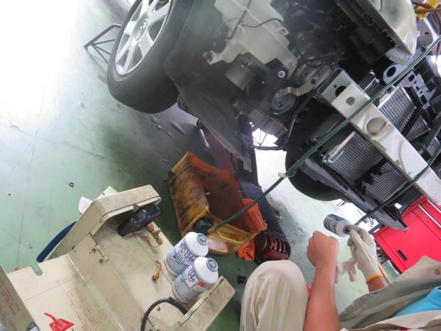 エアコン修理(RX8・SE3P) (4).JPG