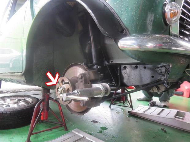 ミニクーパー異音修理(E-XN12A) (5).JPG
